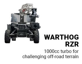 Warthog RZR: 1000cc turbo for challenging off-road terrain